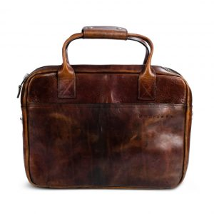 Briefcase Mahana Dark Brown