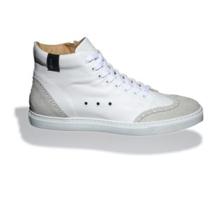 Ariza High-top leather sneakers