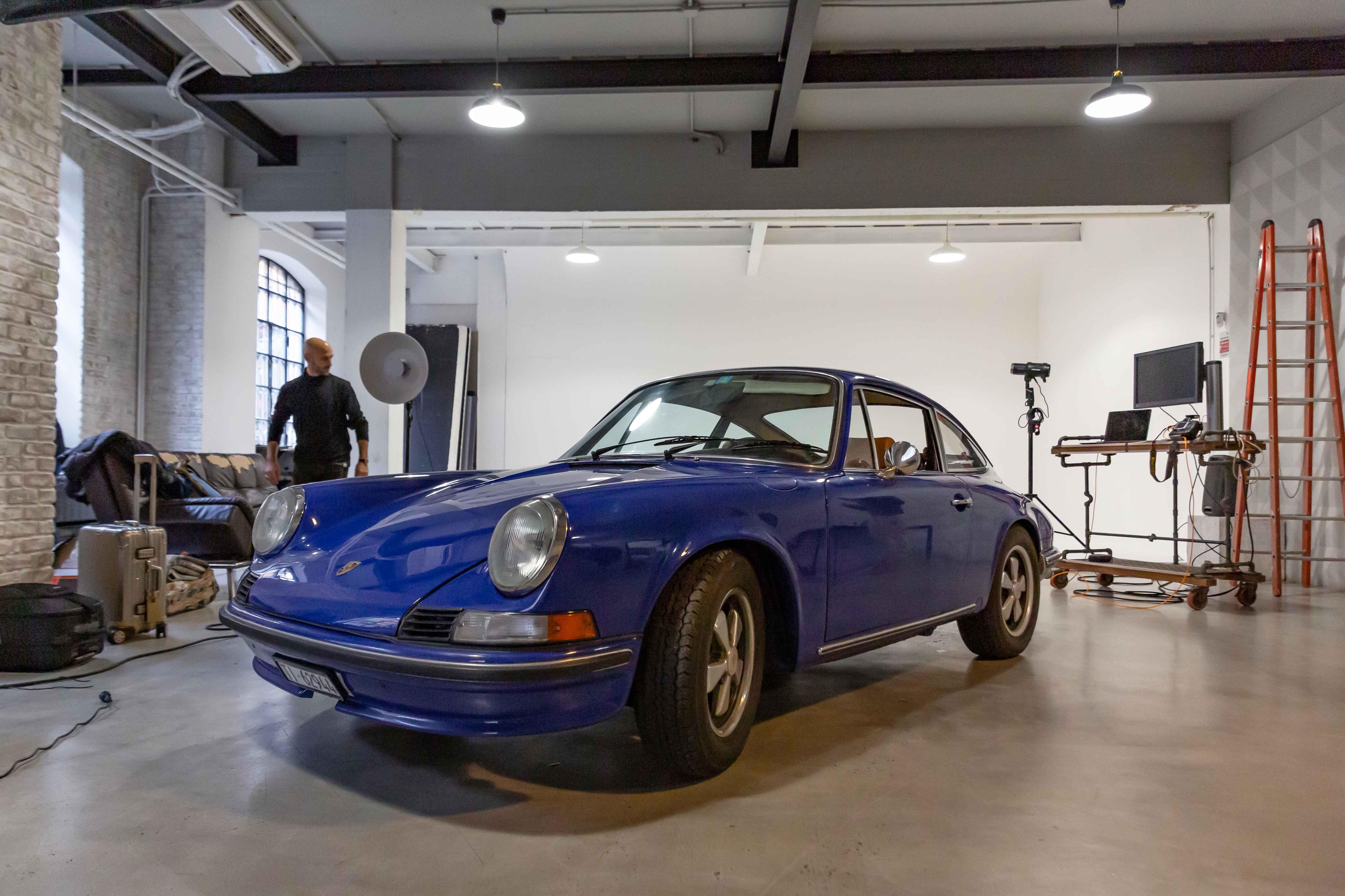 Rubirosa Photo Shoot Porsche 911