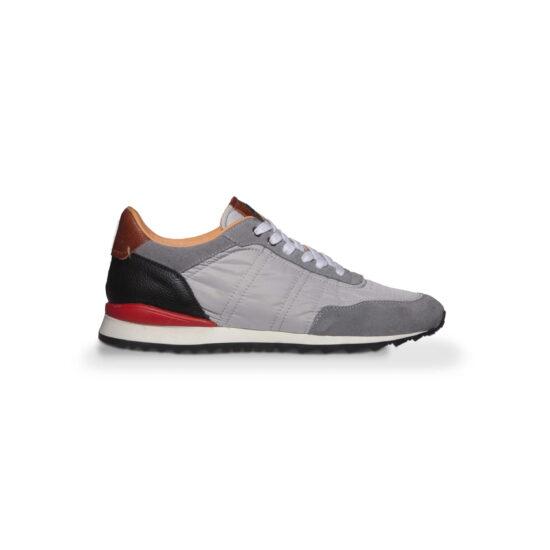 Grey Sneakers Running