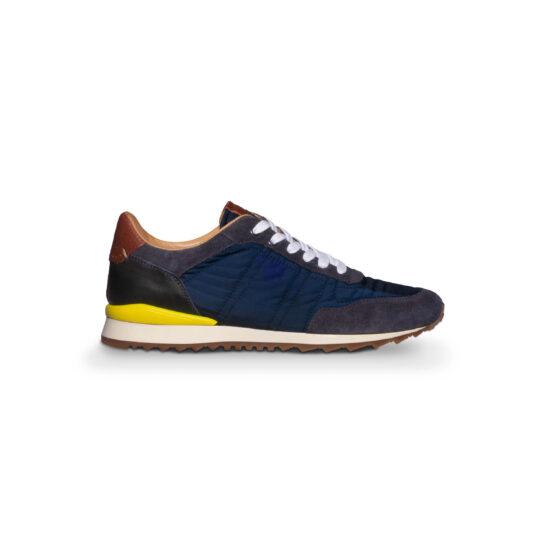 Navy Sneakers Running